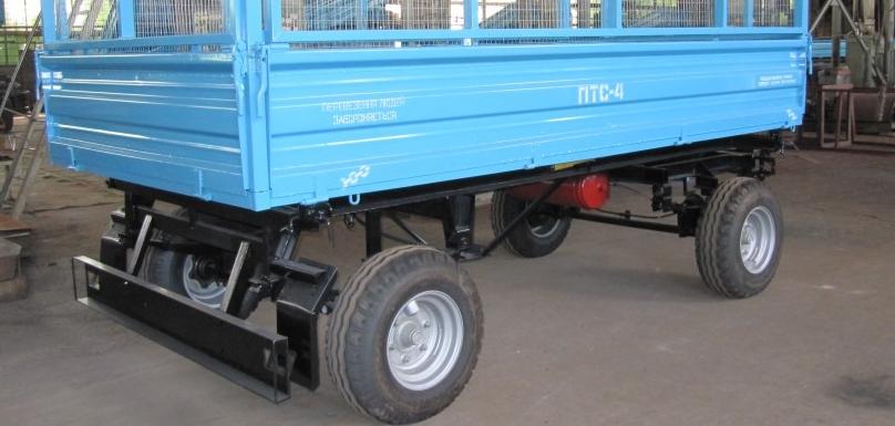Automobile trailer 2PTS-4