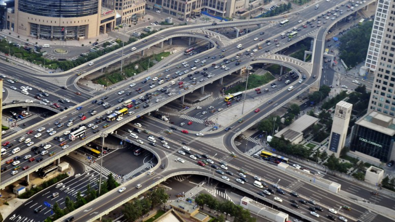 Transport infrastructure development in China